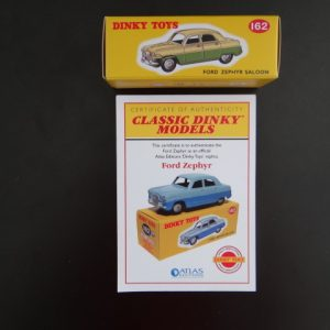 Atlas Editions Classic Dinky Replica Model Ford Zephyr Saloon