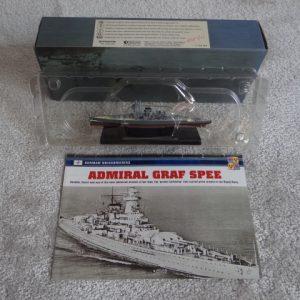 Atlas Editions Replica Model Ship Admiral Graf Spee No. 7 134 107