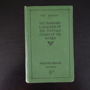 1937 The Standard Catalogue of Postage Stamps of the World