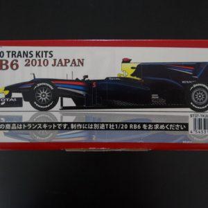 Studio 27 Red Bull RB6 Renault Trans Kit